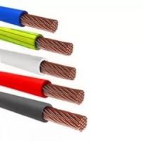 Провод монтажный 50 кв.мм медный 0,45 кВ гибкий с ПВХ изоляцией