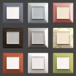Серия Valena Цветные рамки
