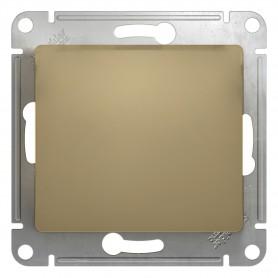 Механизм выключателя 1-кл. СП GLOSSA 10А IP20 10AX титан SchE