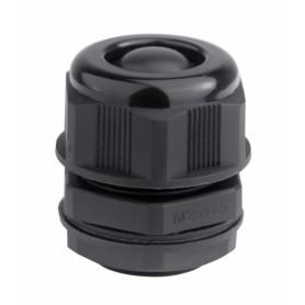 Кабельный ввод, IP68, M32, с мембраной, черный, для кабеля d.18-25mm