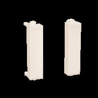 "Комплект модульных заглушек ""Avanti"", ""Ванильная дымка"", 0,5 модуля 2штуки"