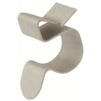 Клипса для крепления трубы к балке 4-7,5 мм диаметр 15-18 мм