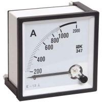 Амперметр Э47 72х72мм 1000/5А кл. точн. 1.5 ИЭК