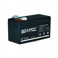 Батарея аккумуляторная 12В 1.2А.ч Security Force SF