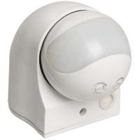 Датчик движения настенный 1100 Вт 10м, 180, IP44 белый ДД009