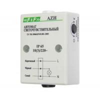 Фотореле AZH (встроен. фотодатчик монтаж на плоскость 230В 10А 1 НО IP65) F&F