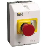 Оболочка защитная с кноп. СТОП IP54 ИЭК