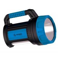 Фонарь светодиодный аккум. KOSMOS premium 7W LED зарядное устройство 220/12В USB зарядка телефона КОСМОС