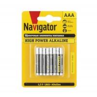 Элемент питания алкалиновый 94 751 NBT-NE-LR03-BP4 (блист.4шт) Navigator