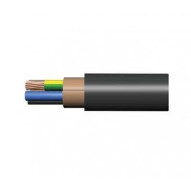 Кабель ППГнг(А)-HF 5х16 ОК (N PE) 1кВ (м) Конкорд 6135