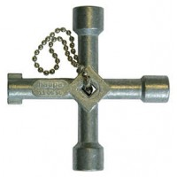 Ключ универсальный для распред. шкафа 72х72мм HAUPA