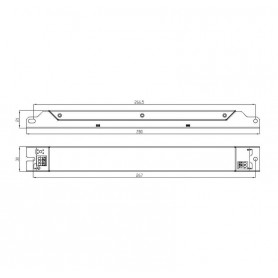 Драйвер ИПС50-350Т ЭКО 0110 IP20 Аргос