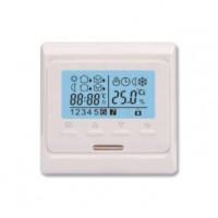 Термостат программ. SТ-16 с контролем времени датчик пола; датчик возд. +5/+40град.С 230В 16А 3.5кВт EXTHERM