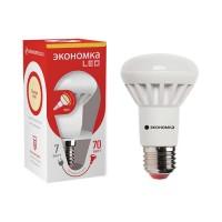 Лампа светодиодная R63 7Вт 3000К тепл. бел. E27 540лм 220-240В ЭКОНОМКА