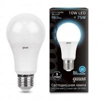 Лампа gauss E27 10Вт 4100K