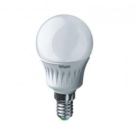 Лампа светодиодная 94 476 NLL-P-G45-5-230-2.7K-E14 5Вт шар 2700К тепл. бел. E14 330лм 220-240В Navigator