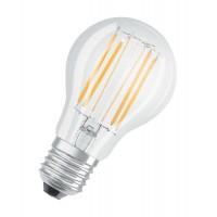 Лампа светодиодная LED STAR CLASSIC A 75 8W/827 230V FIL E27 FS1 OSRAM