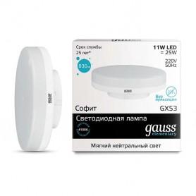 Лампа LED Elementary GX53 11Вт 4100К 1/10/100 Gauss