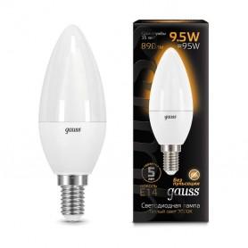 Лампа светодиодная Led Candle E14 9.5Вт 3000К Gauss