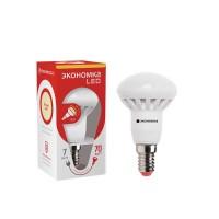 Лампа светодиодная R50 6Вт 3000К тепл. бел. E14 440лм 220-240В ЭКОНОМКА Eco_LED6wR50E1430 /