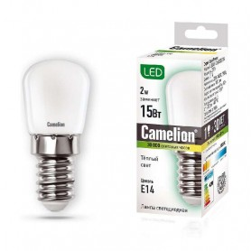 Лампа светодиодная LED2-T26/830/E14 2Вт 220В Camelion