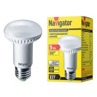 Лампа светодиодная 94 137 NLL-R63-5-230-4K-E27 5Вт 4000К белый E27 425лм 220-240В Navigator