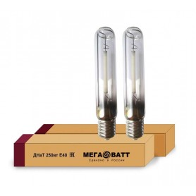 Лампа газоразрядная натриевая ДНаТ 250 E40 (25) МЕГАВАТТ