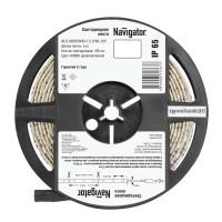 Лента светодиодная 71 767 NLS-5050CW30-7.2-IP65-12V R5 7.2Вт/м (уп.5м) Navigator
