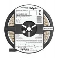 Лента светодиодная 71 762 NLS-3528CW60-4.8-IP20-12V R5 4.8Вт/м (уп.5м) Navigator