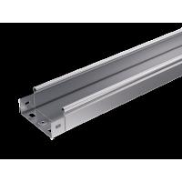 Лоток неперфорированный 300х50 L3000 сталь 0.7мм S3 ДКС