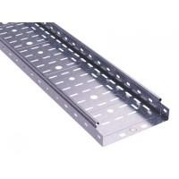 Лоток перфорированный 150х50 L3000 сталь 0.6мм S3 ДКС