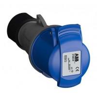 Розетка кабельная 216EC6 Easy&Safe 216EC6 16А 2P+E IP44 6ч ABB