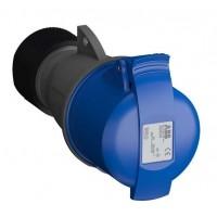Розетка кабельная 232EC6 Easy&Safe 232EC6 32А 2P+E IP44 6ч ABB