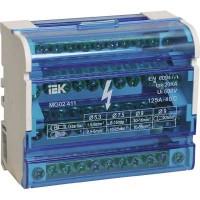 Кросс-модуль 4 полюса, 125 А, 7х1,5-6 мм.кв. + 2х6-16 мм.кв. + 2х10-16 мм.кв.