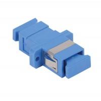 Адаптер проходной SC-SC для одномодового и многомодового кабеля (SM/MM); с полировкой UPC; одинарного исполнения (Simplex) ITK