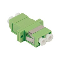 Адаптер проходной LC-LC для одномодового и многомодового кабеля (SM/MM); с полировкой APC; двойного исполнения (Duplex) ITK