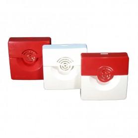 Оповещатель охранно-пожарный звуковой ОПОП2-35 (корпус бел/красн.) Рубеж