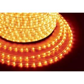 Шнур светодиодный Дюралайт фиксинг круглый 13мм 2.4Вт/метр 220В IP54 жел. (уп.100м) NEON-NIGHT