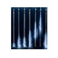 Электрогирлянда занавес светодиодная Падающие звезды ULD-E2403-144/DTK WHITE IP44 METEOR 144 led 2.4х0.3м бел. UNIEL