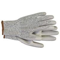 Перчатки с полиуретановым покрытием 5 степень защ. размер 10 сер. HAUPA
