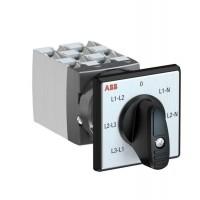 Переключатель кулачковый OC25G06PNBN00NV30 (вольтметр) ABB