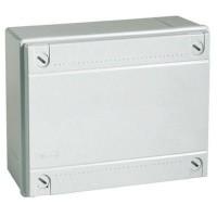 Коробка монтажная распределительная 150х110х70 мм с крышкой для открытого монтажа, без сальников, IP56