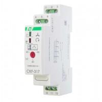 Реле контроля наличия и чередования фаз CKF-317 (монтаж на DIN-рейке 35мм; регулировка порога отключения; 3х400/230+N 8А 1P IP20) F&F