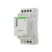 Реле контроля фаз CZF-B (3х400/230+N 8А 1перекл. IP20 монтаж на DIN-рейке) F&F