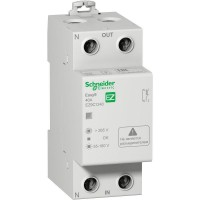 Реле контроля напряжения модульное 1П+Н 40А 230В, 50Гц, серия Easy9