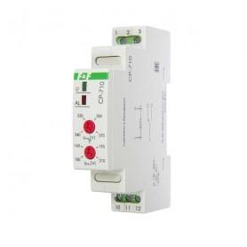 Реле напряжения CP-710 (однофазный; контроль верхнего и нижнего значений напряжения; монтаж на DIN-рейке 35мм; 230В 10А 1P IP20) F&F