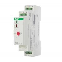 Реле времени PO-415 (задержка выкл./управ. контактом 230В 16А 1перекл. IP20 монтаж на DIN-рейке) F&F