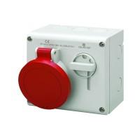 Розетка наруж. уст. 32А 400В 3P+E+N IP44 ДКС