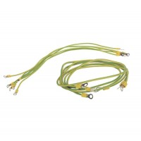 Комплект проводов заземления 50 cм - 6шт; 80 cм - 3шт ITK