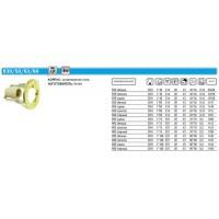 Светильник Prima 80 0 05 точечный R80 хром E27 ИТАЛМАК